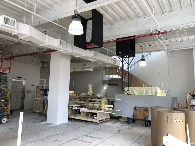 focals by North interior construction