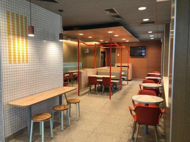 McDonalds Interior