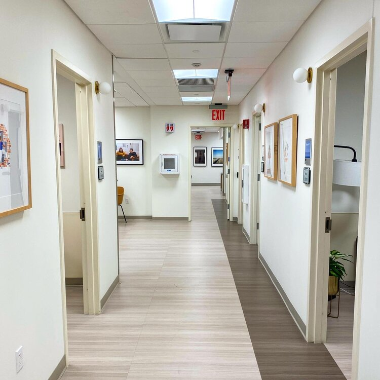 Cityblock Health hallway to exam rooms
