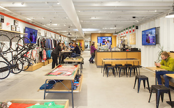 Complete Construction interior of store