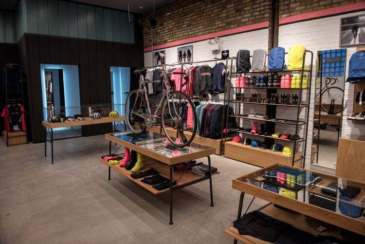 Rapha Cycle Clubs interior