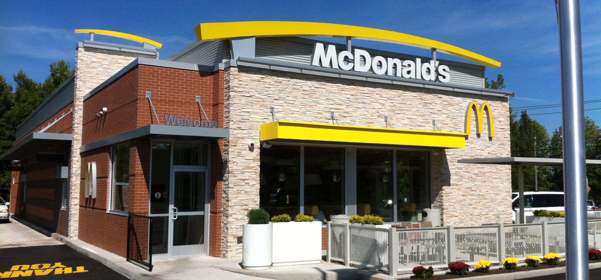 McDonalds Exterior front of buidling