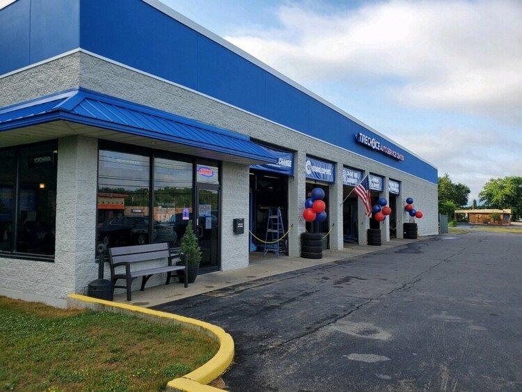 Monro exterior front entrance