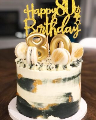 I've been super MIA lately but am working on something BIG. Hopefully will be able to share more next month. Until then, here's a fun 80th Birthday cake 🖤  . . .  #birthdaycake #buttercreamcake #instabakes #instabakers #funcakes #stylishcakes #funcakes #Cakedealer #girlbosstribe #BakerLife #cakesdaily #bakeyourworldhappy #howtocakeit #cakesinstyle #cakeinspo #cakesofinstagram #cakedecorating #cakedesign #baking #homemade #cakedecorators #buzzfeedfood #cakegram #thebakefeed #sweettooth #instacake #virginiabaker #dmvfoodie #buttercreamlove #buttercreamdesign