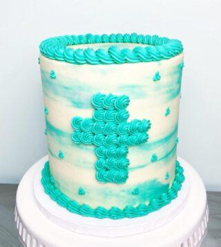 First Communion cake. 😌