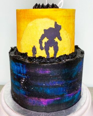 This TITANFALL cake turned out so cool! 🙌🏼  @northernvirginiamag