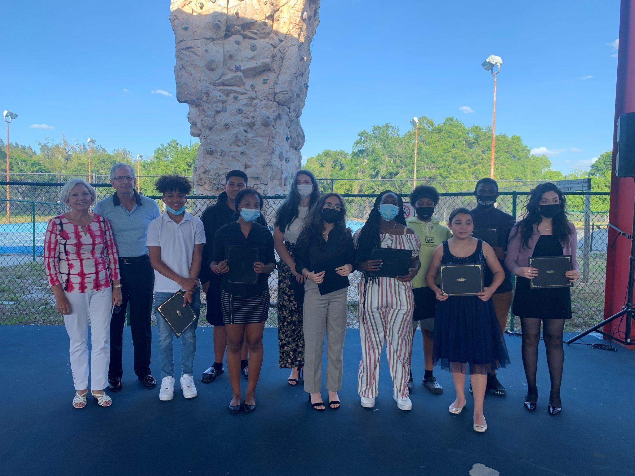 11 Sarasota teens named Townsend Scholars; awarded two-year college scholarships by Steven and Marjolaine Townsend and Take Stock in Children