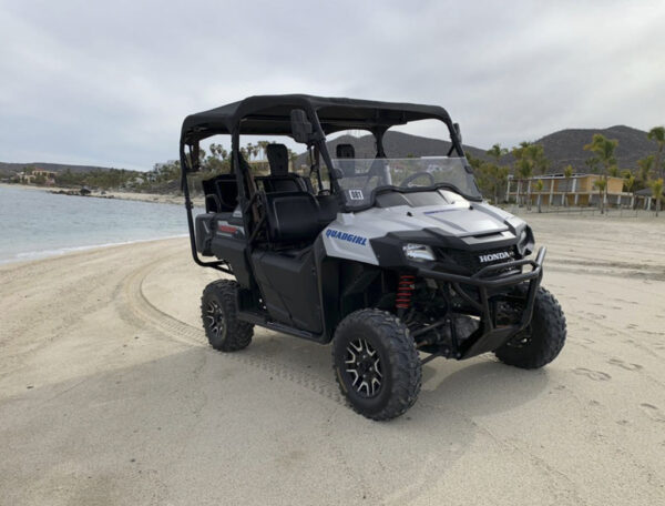 4 seater quad for rent los barriles