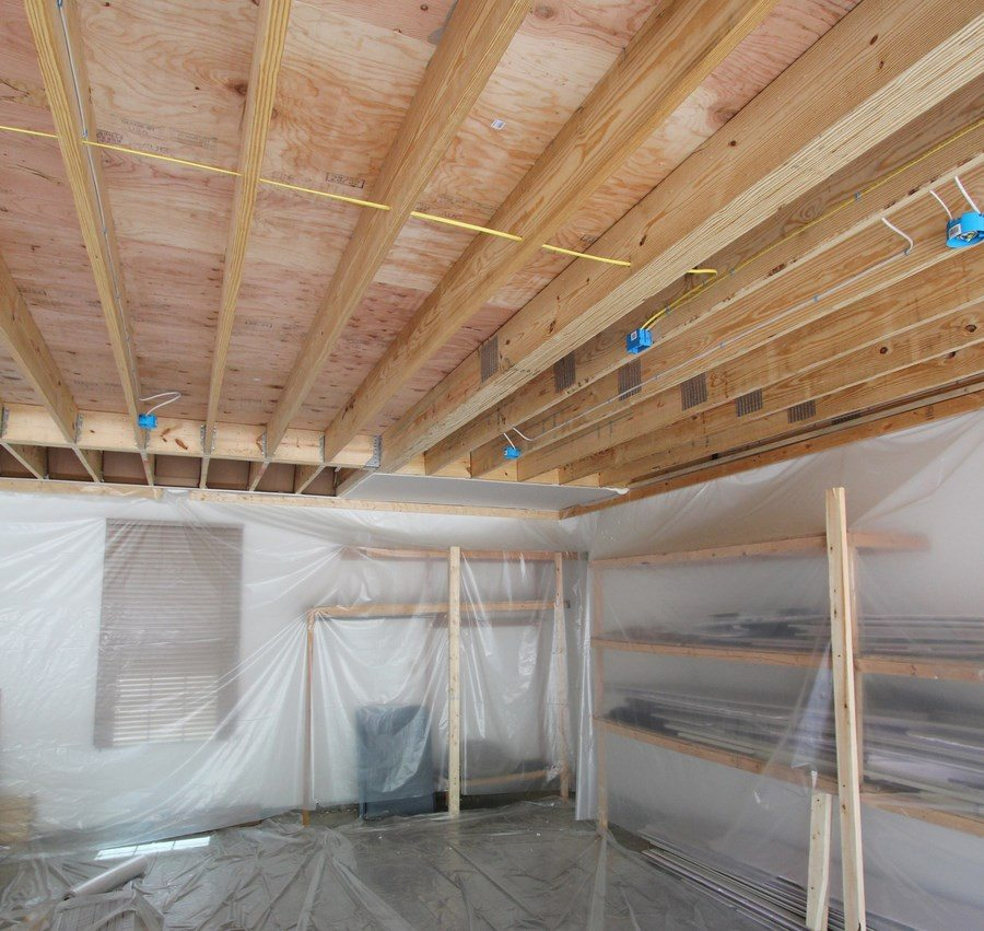 Garage in Washington MO to be insuated with Spray Foam Insulation