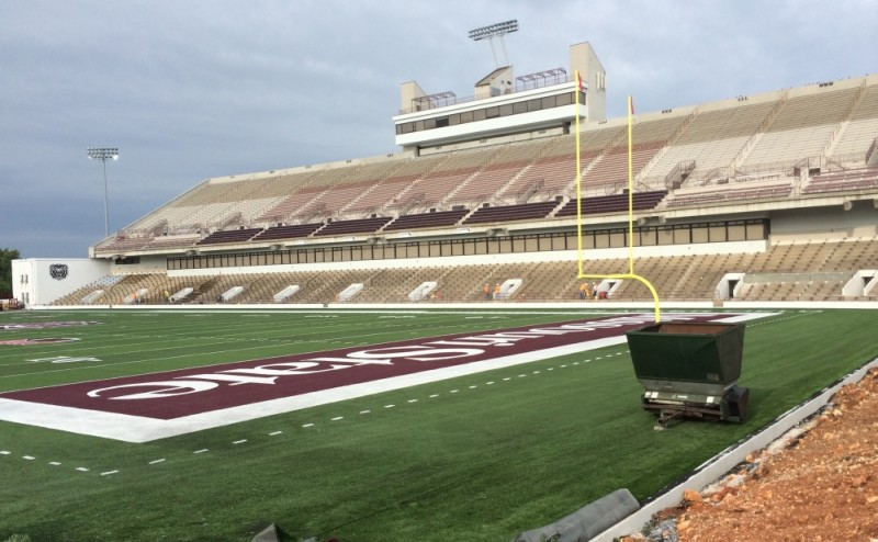 Newly Constructed MSU Field