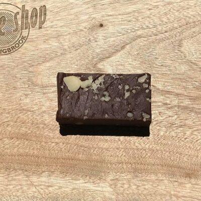 Dark Chocolate Macadamia Fudge