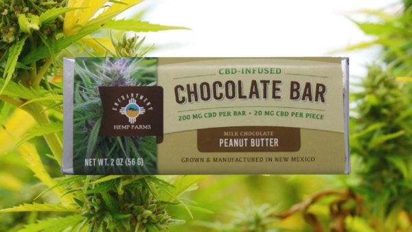 CBD-Infused Chocolate Bar