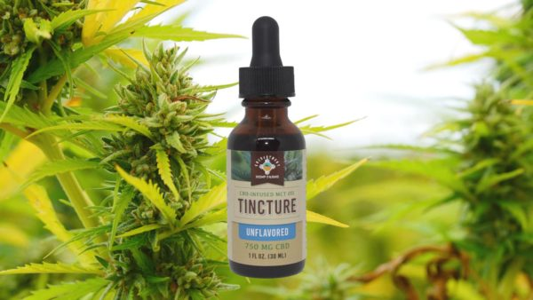 Unflavored CBD Tincture CBD Products 750mg