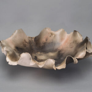 Dawson Morgan Raku Centerpiece Large Round 21x20x7