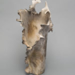 Dawson Morgan Vessel Vase Raku Smoke 7x7x15