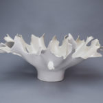 White Centerpiece_White_Matte_Large_Round_20x20x9
