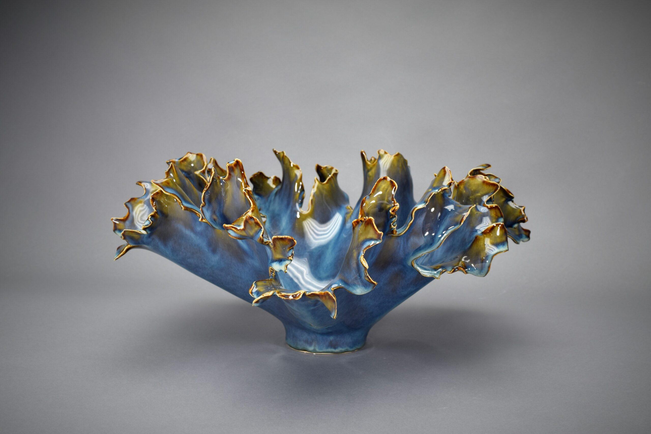 Blue Splash Bowl
