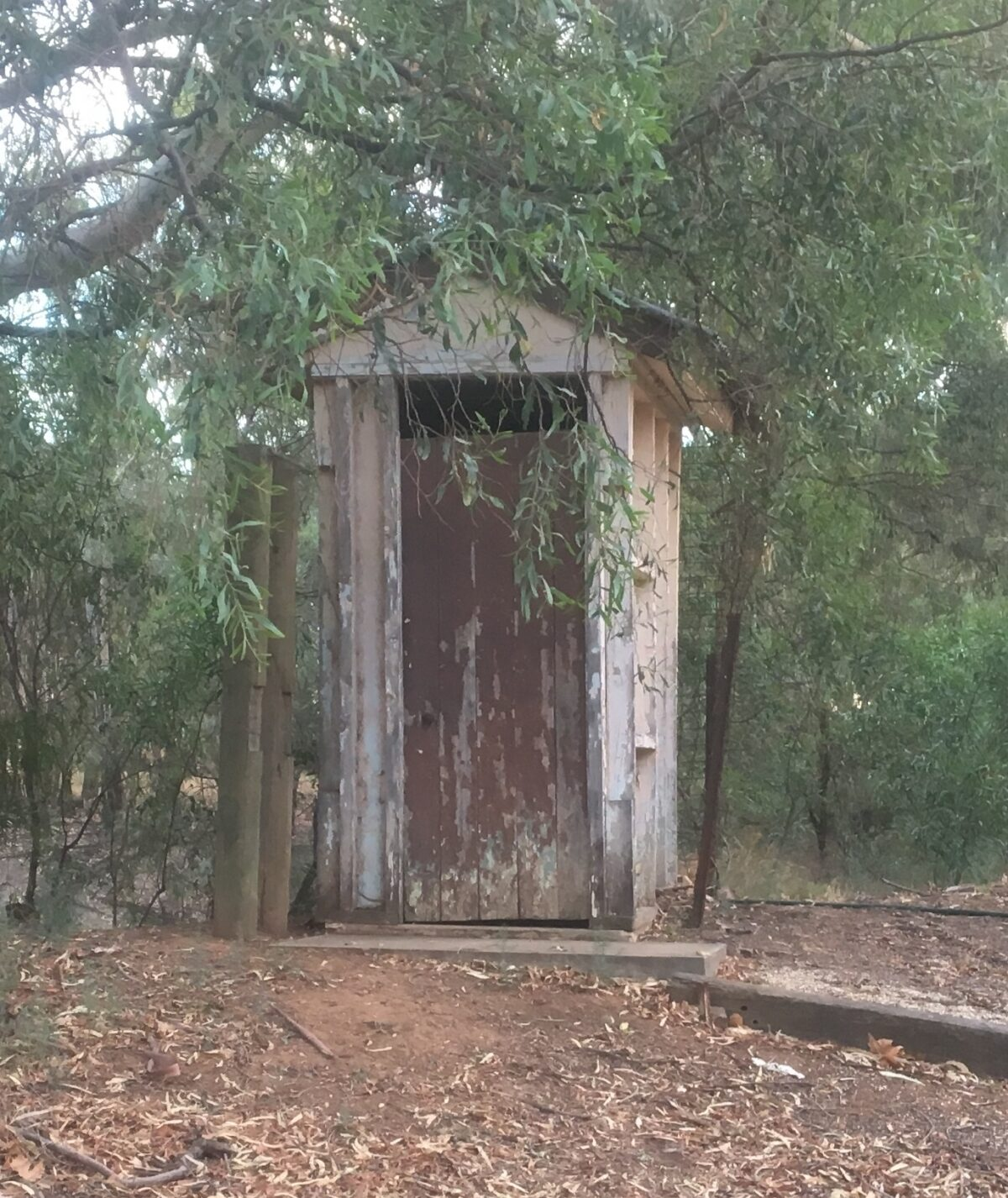 John Holack_Open_The old outhouse