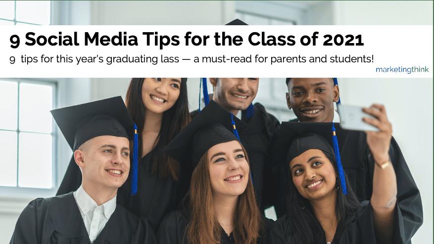 social media tips for college grads
