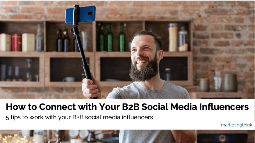 connect with b2b social media influencers