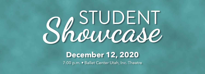 Student Showcase - December 12