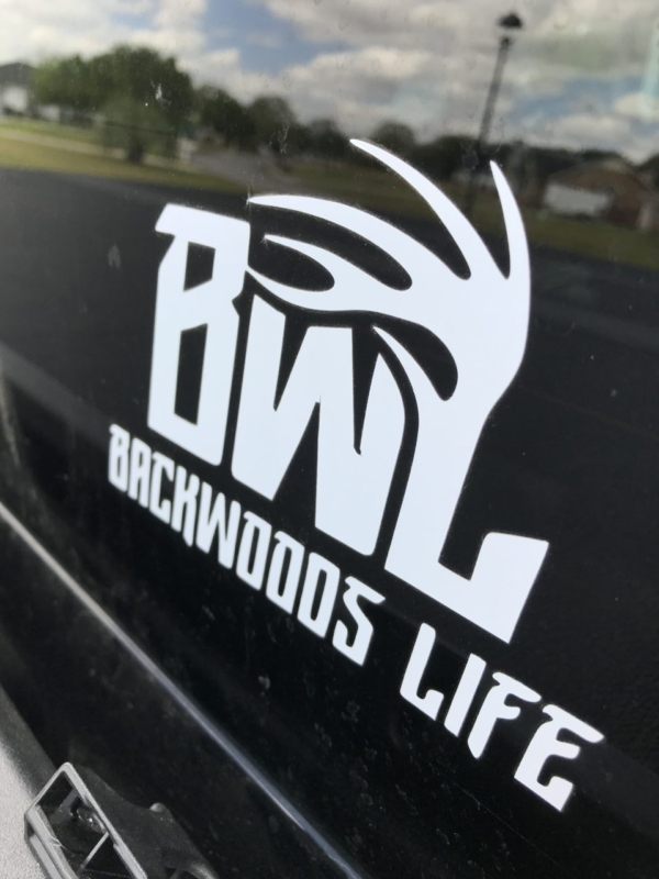 Backwoods Life Decal