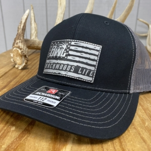 Backwoods Life Flag Hat