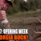 Opening week big Georgia buck