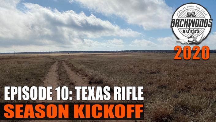 Texas Rifle Season Opener
