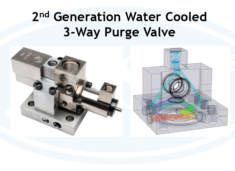 JASC 2nd Generation Water Cooled 3-Way Purge Valve