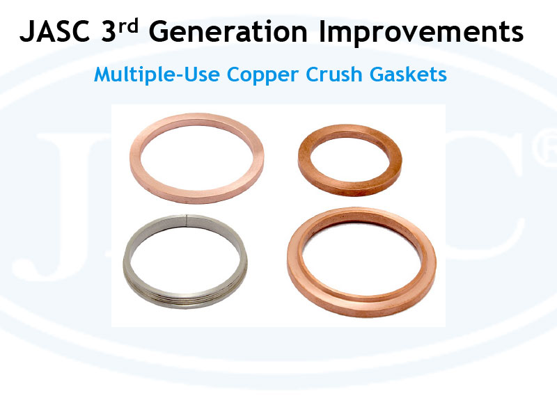 JASC Multiple Use Copper Crush Gaskets
