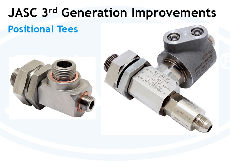 High-Temperature Positional Tees 2nd Generation