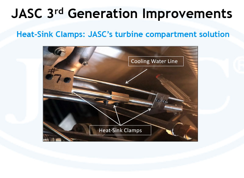 Heat-Sink Clamps: JASC's Turbine Compartment Solution