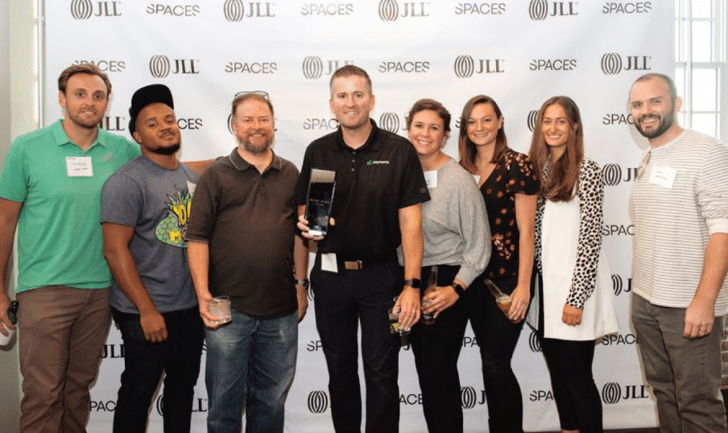 Upper Hand HQ Wins JLL's 2019 Best in Show Award for Innovative Tech Space