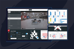 Upper Hand video analysis tools for hockey goaltenders