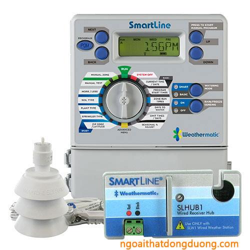 Cách cài đặt bộ điều khiển tưới, bộ điều khiển tưới sl800, bộ điều khiển tưới sl1600, bộ điều khiển tưới sl4800