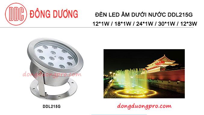 Đèn Led âm nước DMX512