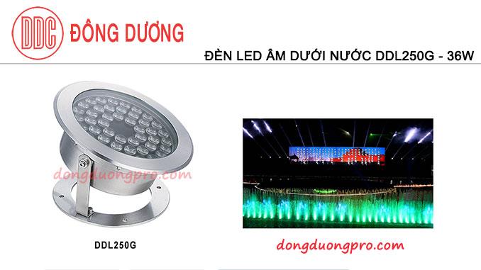 Đèn LED âm trong nước DDL - 250G