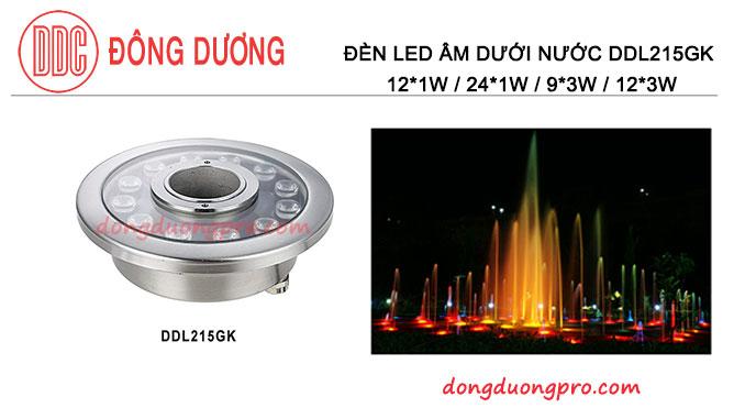 Đèn led dưới nước 12w DDL215GK