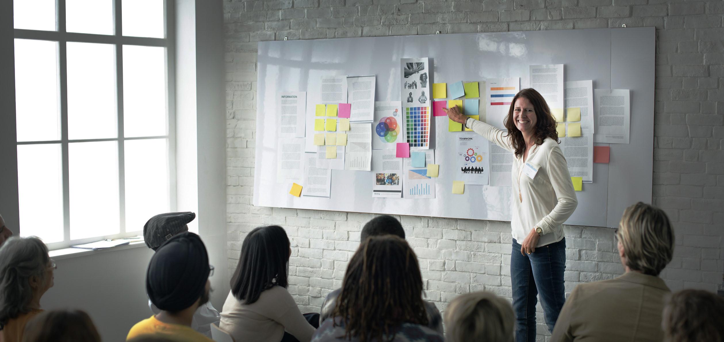 Design Team Meeting Presentation Creative Concept