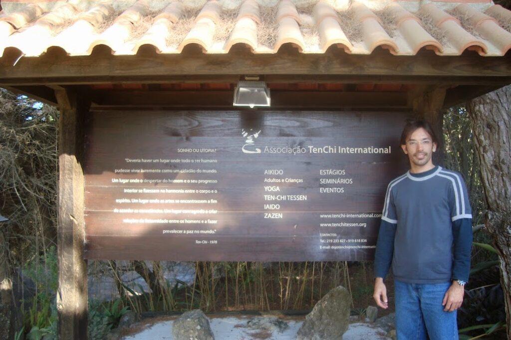 Primeira vez em TenChi (Portugal), 2007.
