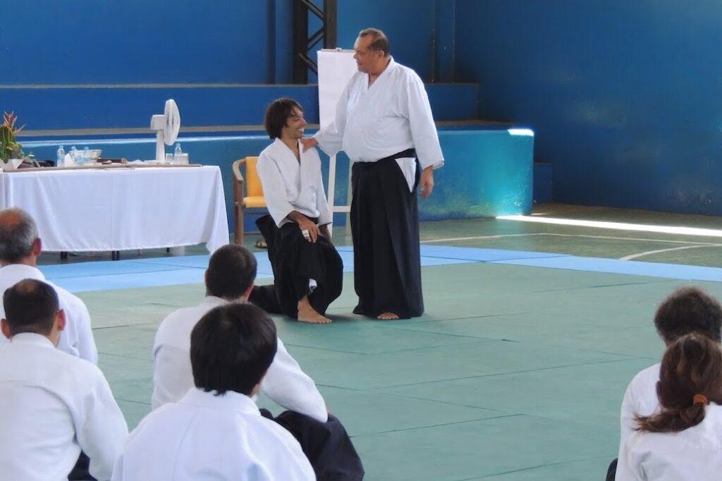 Com o mestre Stobbaerts no Brasil, 2013.