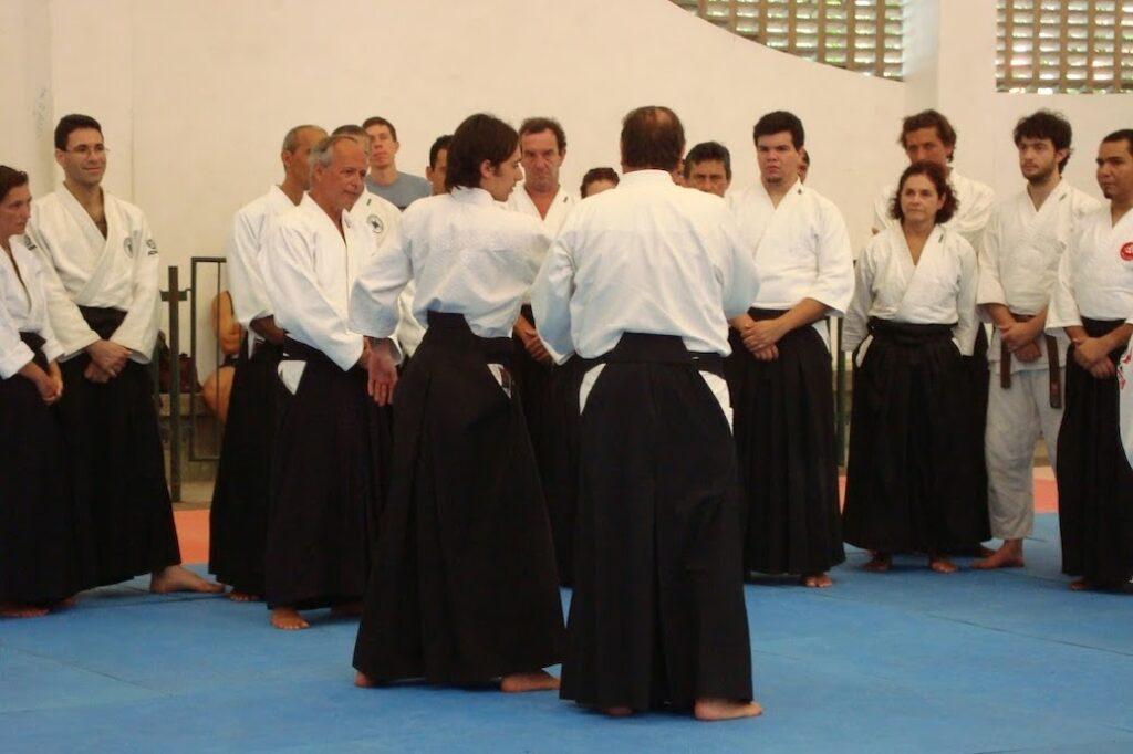 Com o mestre Stobbaerts no Brasil, 2008.