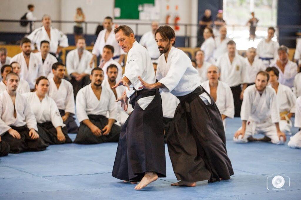 Seminário com Christian Tissier no Brasil em 2018.