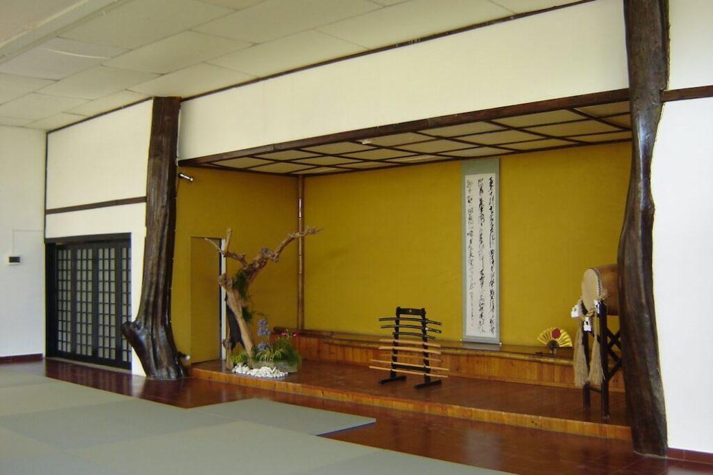 Interior do Dojo principal.