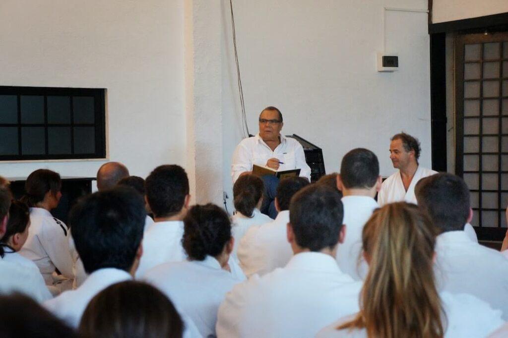 Diversos seminários com o Mestre Stobbaerts.