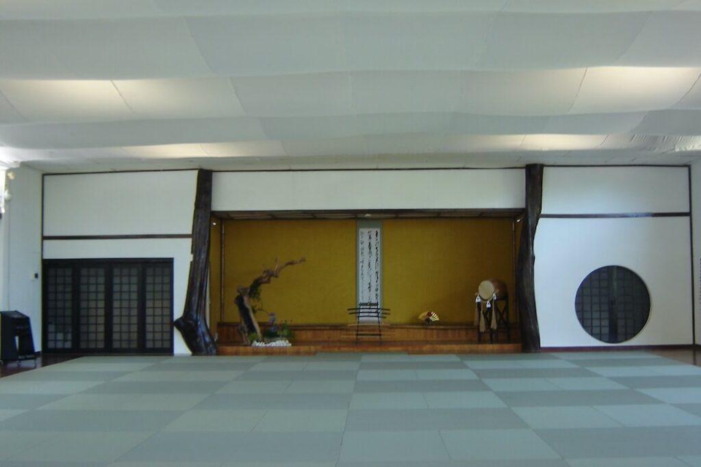 Interior Dojo principal.