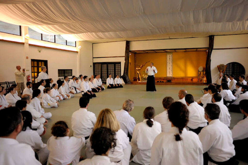 Seminário com o Mestre Stobbaerts.