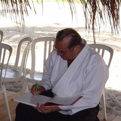 Georges Stobbaerts em Maracaípe, Brasil.