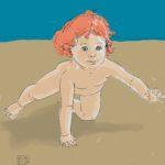 baby moving forward